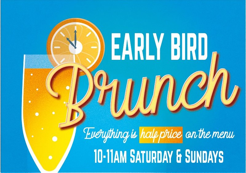early brunch poster